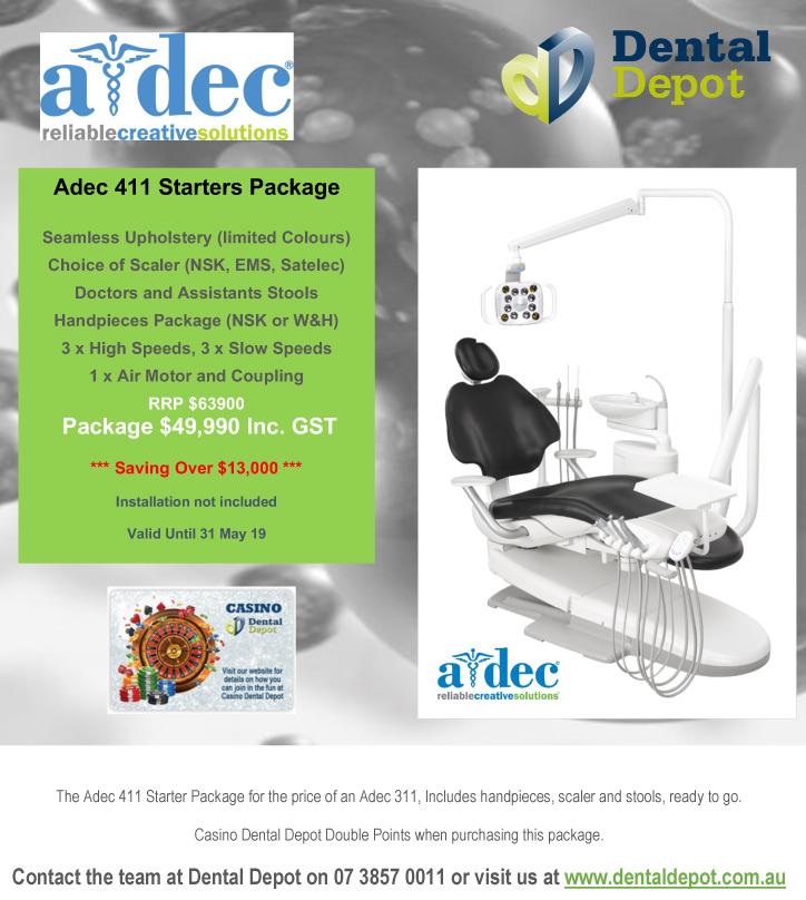 Dental Depot Adec 411 Starters Package Promotion
