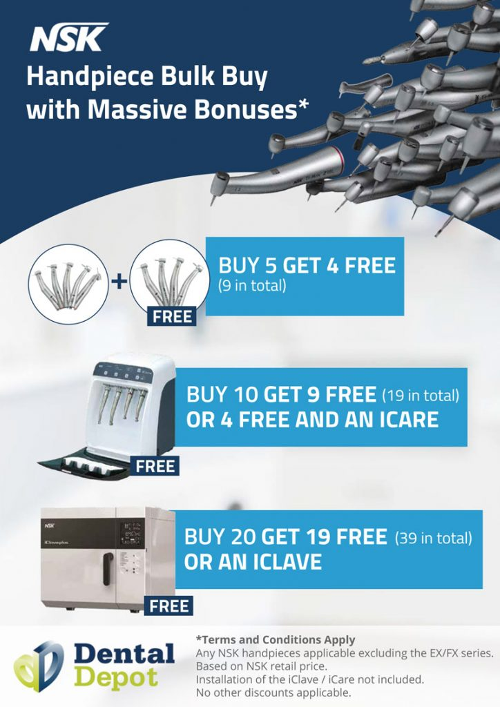 NSK Bulk Buy Handpiece Promotion