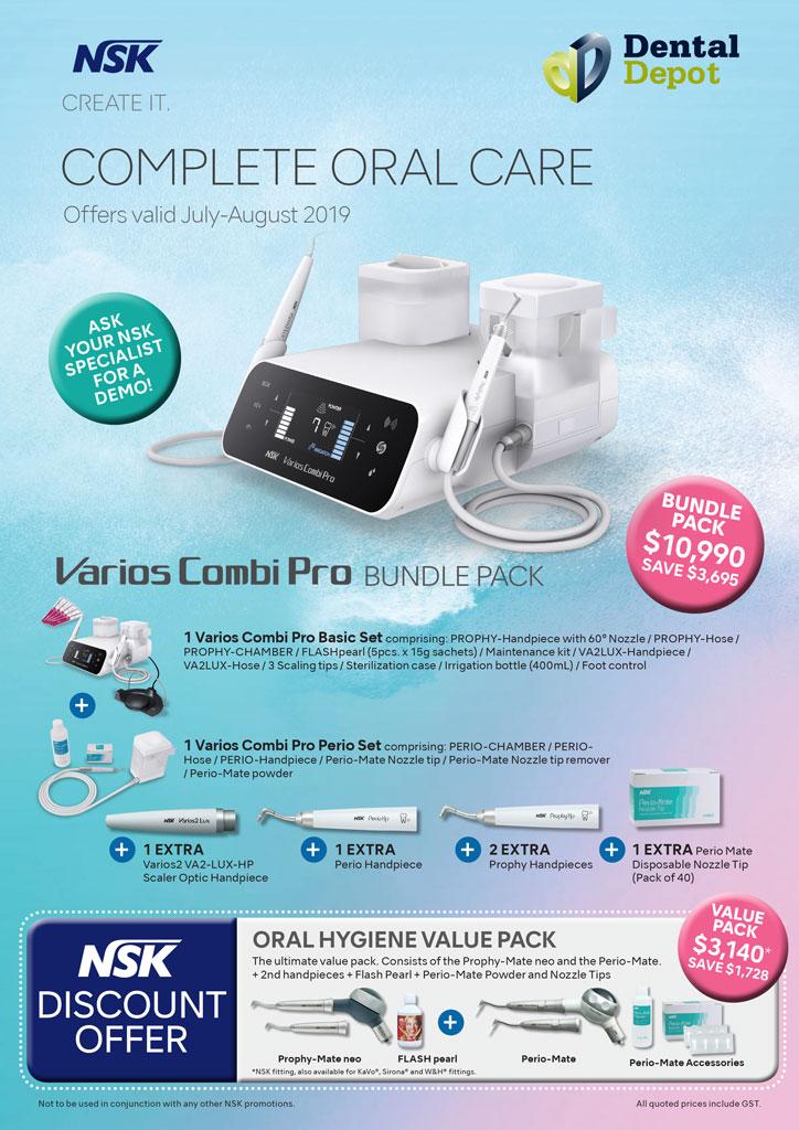 NSK Varios Combi Pro Bundle Pack